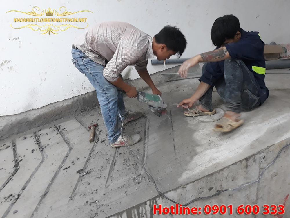 Khoan cắt bê tông Quận Tân Bình, Khoan cắt bê tông Tphcm