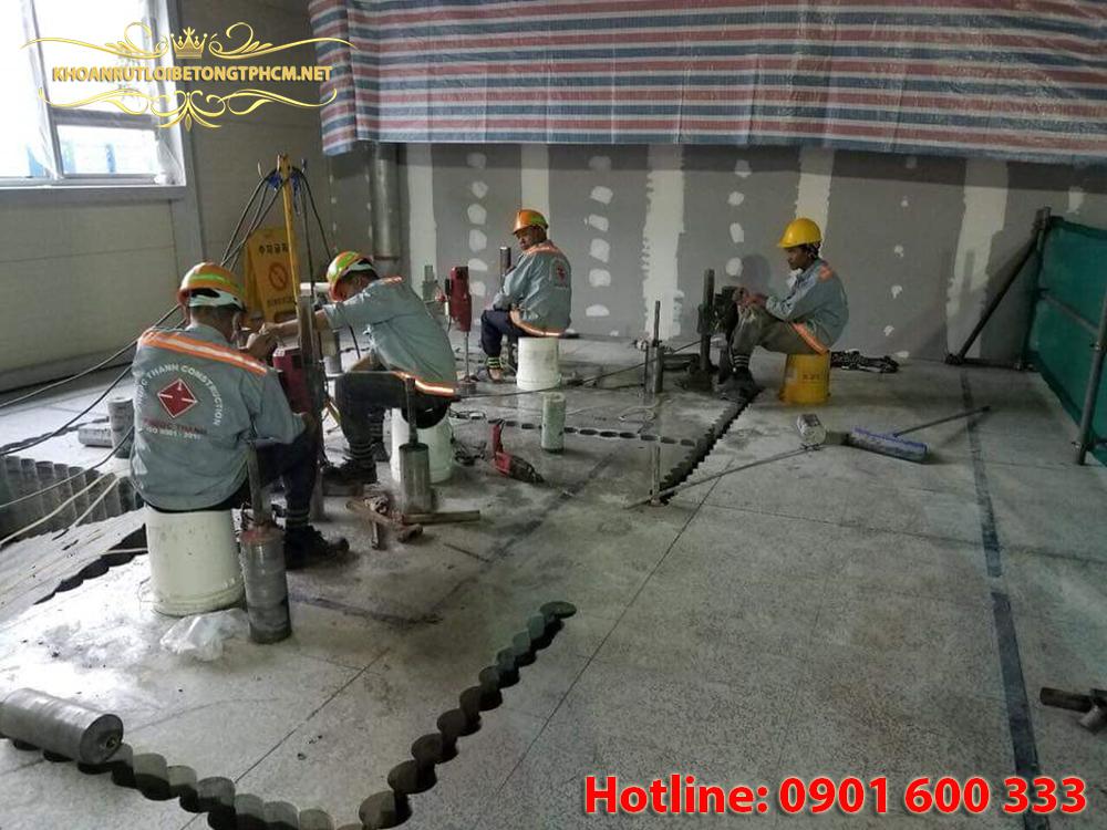 Khoan cắt bê tông huyện Củ Chi
