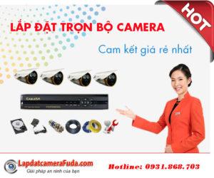 Báo giá lắp đặt camera trọn bộ giá rẻ nhất tại tphcm
